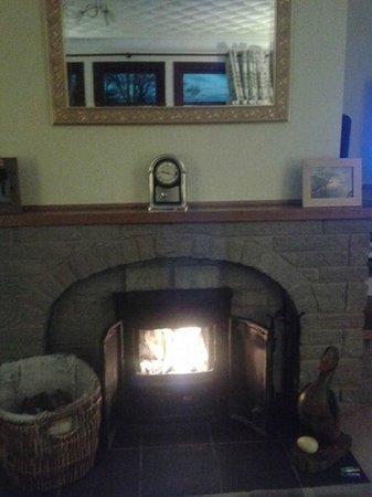 Braeburn Cottage: Fire recycled old wood