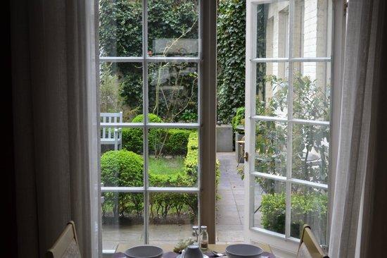 Hotel Alegria : Beautiful breakfast area
