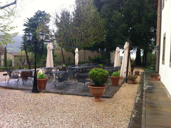 Villa di Piazzano: Terrace
