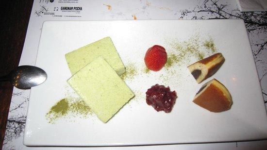 Zen Charcoal BBQ: Green Tea ice cream