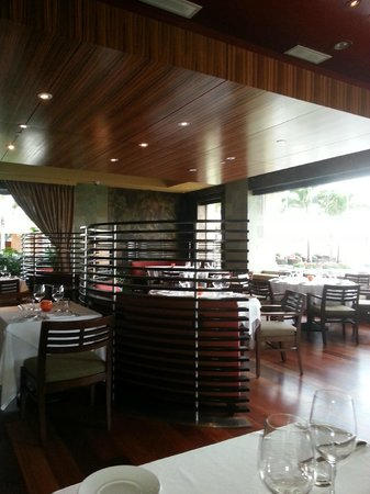 Spago: View of inside the restaurant