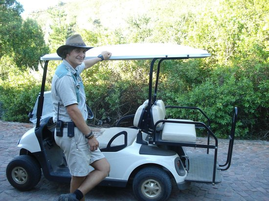 Botlierskop Private Game Reserve: Game Guide + Golf Buggy