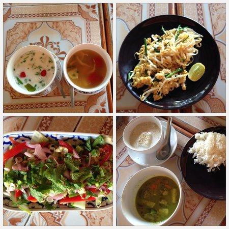 Smart Cook Thai Cookery School : pratos feitos por mim