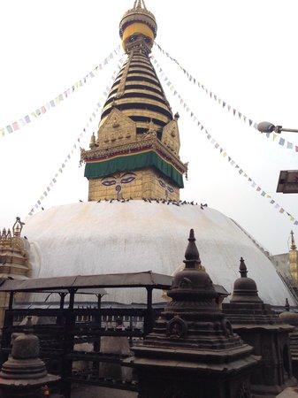 Swayambhunath Temple: The centre of Kathmandu power: a must-go!