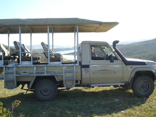 Botlierskop Private Game Reserve: Game Drive Vehicle