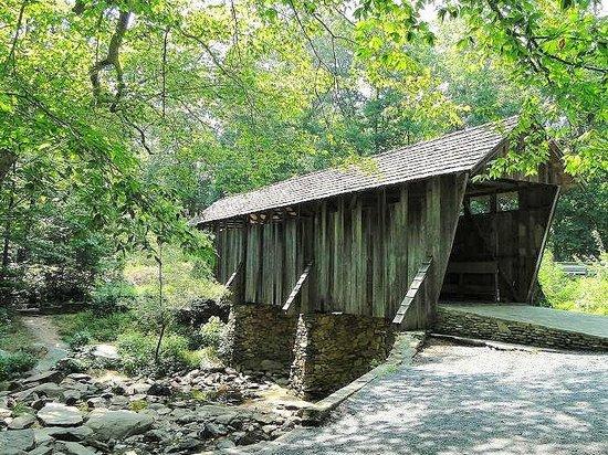 Pisgah Covered Bridge: bridge