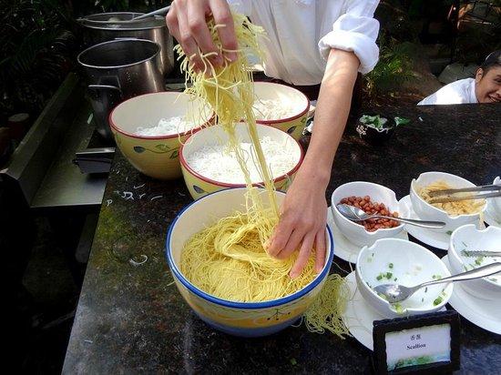 NARADA Resort & Spa Qixian Mount: Один повар