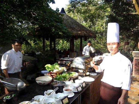 NARADA Resort & Spa Qixian Mount: Третий повар-шеф