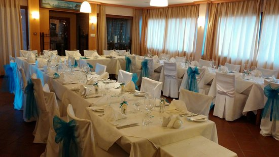 Colosseum: Wedding table is ready!
