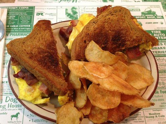 Elm Tree Diner: Western sandwich!!