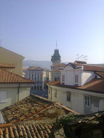 Aqua Residence: vista dalla stanza ultimo piano