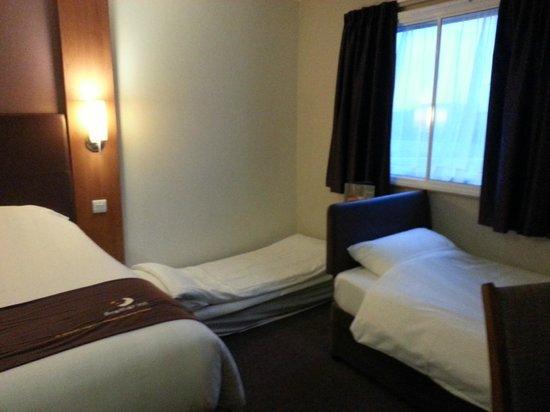 Premier Inn London Docklands (Excel) Hotel : Kids beds