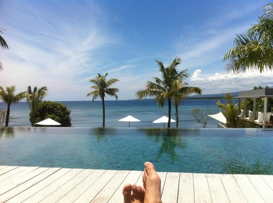 The Lombok Lodge : Luxury quite pool area