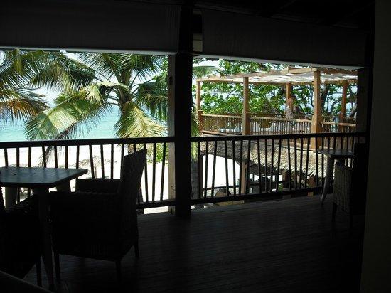 Sandoway Resort: terrazza della biblioteca
