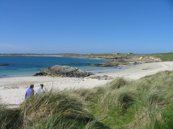 Clifden ecoBeach Camping & Caravanning Park: Clifden Camping on the Beach