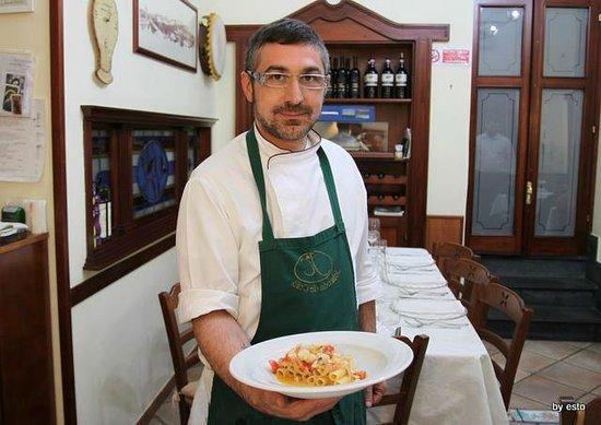 Somma Vesuviana, Italien: Il noto Chef Vincenzo Nocerino.