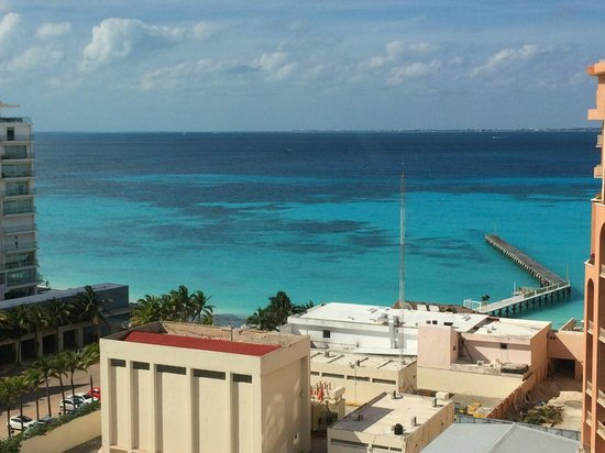 Aloft Cancun: View from 9th floor