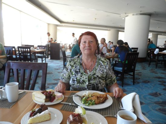 Taba Hotel & Nelson Village: Обед