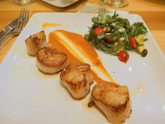 Rustic Kitchen Bistro & Bar: Small Food - This is a $30 entree - Disappointing -