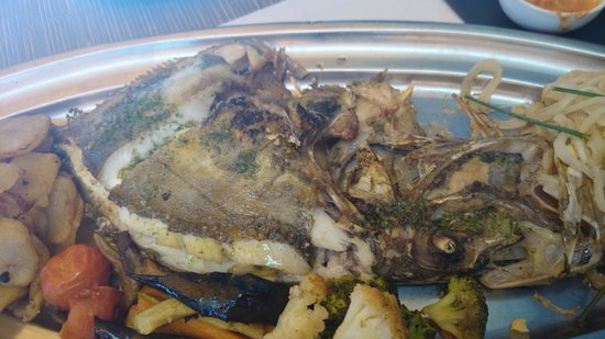 Restaurant Ses Oliveres: pescado excelente