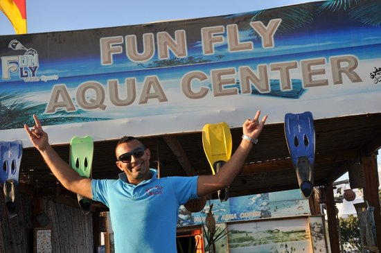 Mercure Hurghada Hotel : fun fly  aqua center