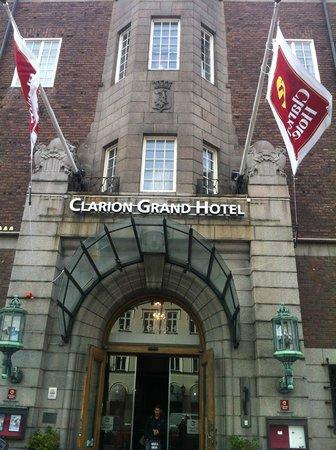 Clarion Grand Hotel : entrée principale