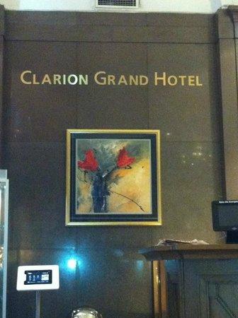 Clarion Grand Hotel : Lobby