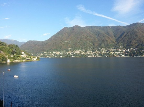 Villa d'Este : View from our room.