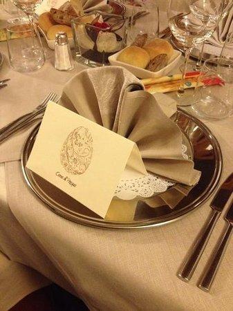 Hotel Residence Baita Clementi: cena di pasqua