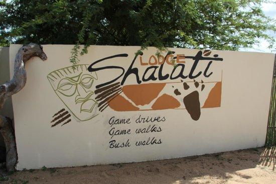 Shalati Adventure Lodge: At the entrance