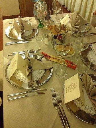 Hotel Residence Baita Clementi : il ns. tavolo