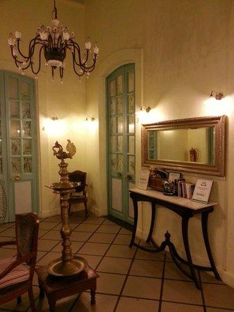 Hotel Du Parc: Lobby