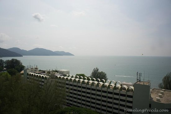 Holiday Inn Resort Penang : View from our room at 15th floor