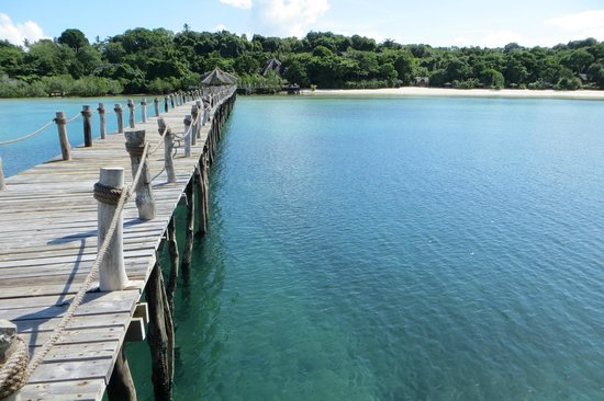 Fundu Lagoon: View from the Jetty