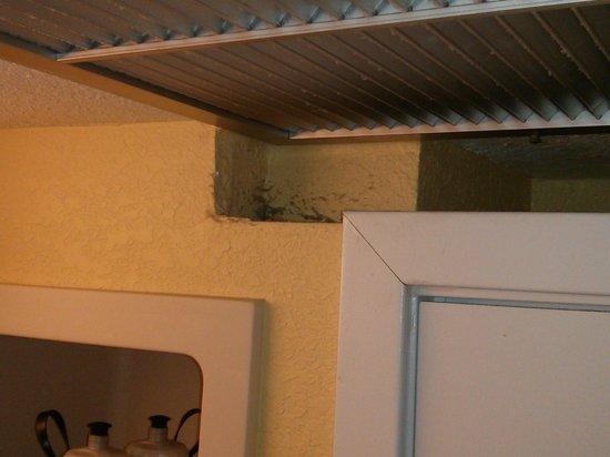 Wyndham Lake Buena Vista Disney Springs Resort Area: Dusty air vent