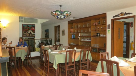 Hotel La Mansión: Both food and atmosphere of the dining room are good.