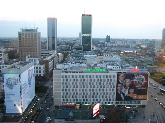 Novotel Warszawa Centrum: Вид из номера