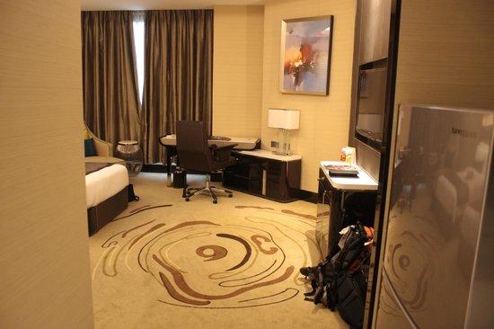 Pacific Regency Hotel Suites : upgraded rooms