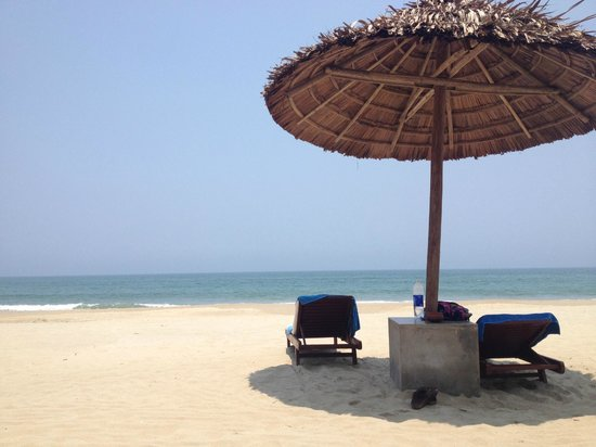 Palm Garden Beach Resort & Spa: resting in the sun