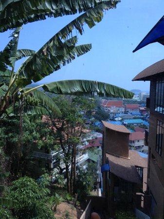 Karon Phunaka Resort and Spa: вид из номера