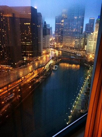 Sheraton Grand Chicago: my view from my room on the 30th floor