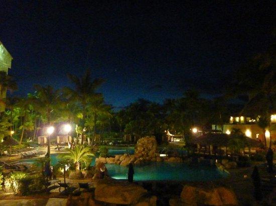 Occidental Grand Aruba All Inclusive Resort : vista do restaurante italiano do hotel