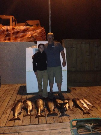 Mega-Bite Fishing Charters: Kylie did a great job!