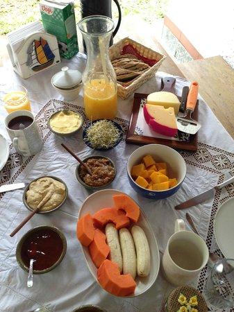 Vegetarian Guesthouse Araruama: The perfect Breakfast