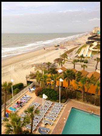 Sandy Beach Resort: beach view from room
