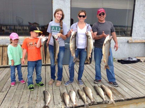 Mega-Bite Fishing Charters: Nice morning trip!!