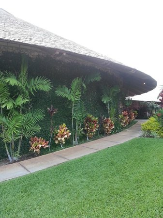 The Restaurant at Hotel Wailea: outside of restaurant