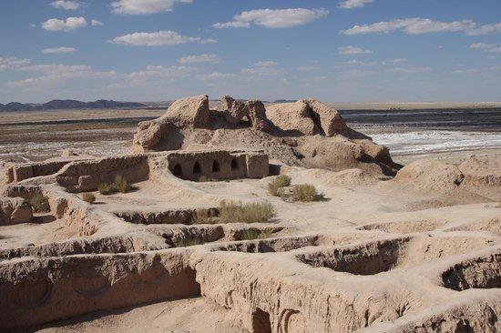 Afrasiab : Для сравнения: городище Топрак-Кала в Хорезмской области