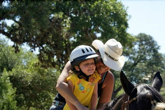 The Sugar & Spice Ranch : Miss Leigh's love of children and horses shines through