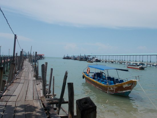 Penang National Park (Taman Negara Pulau Pinang): At the Jetty
